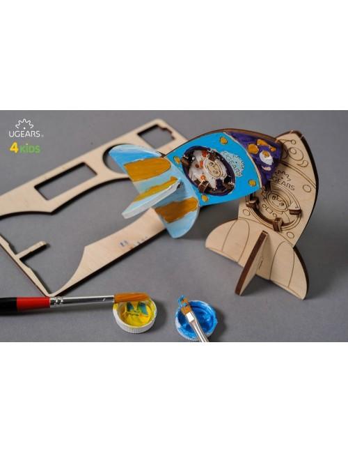 Cohete – maqueta de madera...