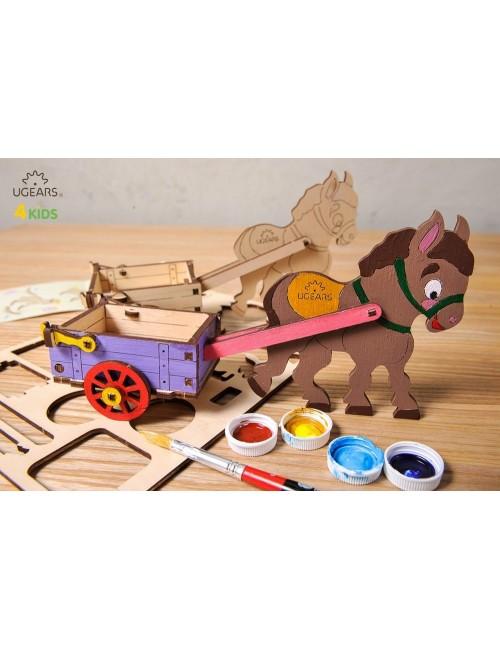 Burrito – maqueta de madera...