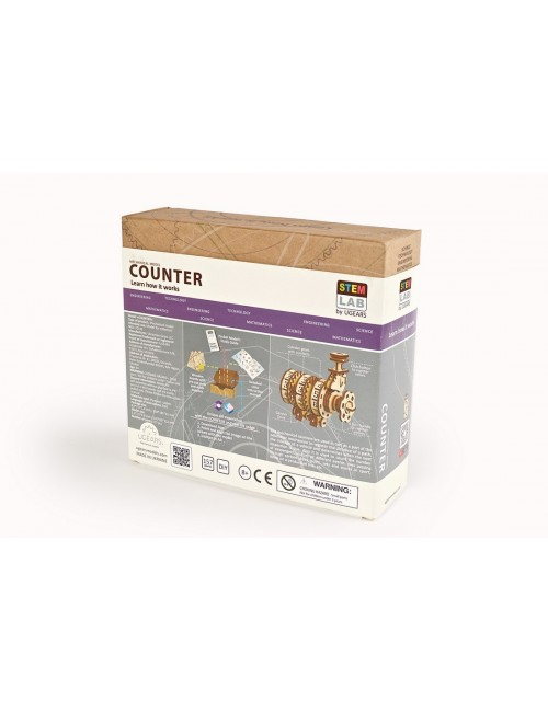 «Counter» – UGEARS STEM-lab...