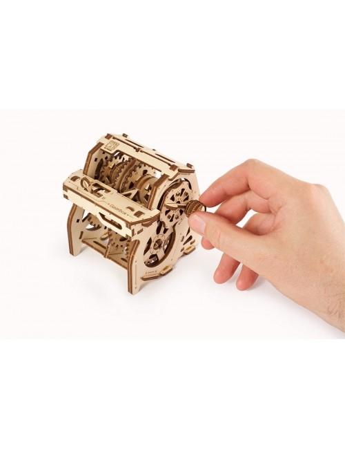 La caja de cambios STEM-lab...