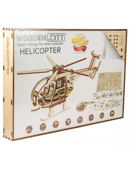Helicóptero – maqueta...