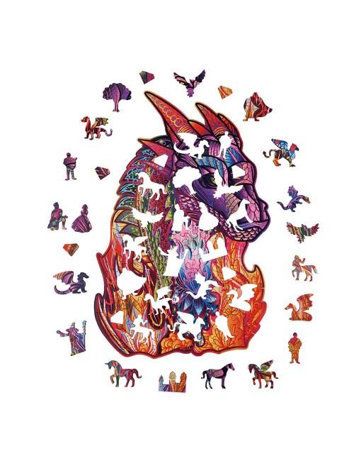 El Dragón – puzzle de...