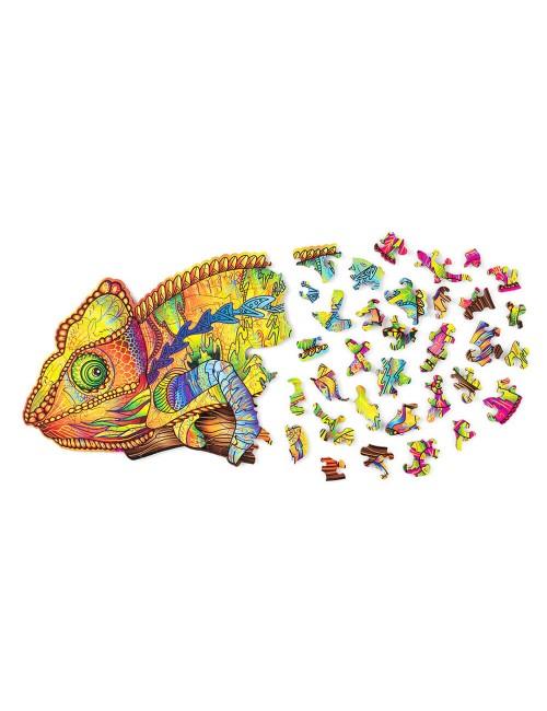 Camaleón – puzzle de...