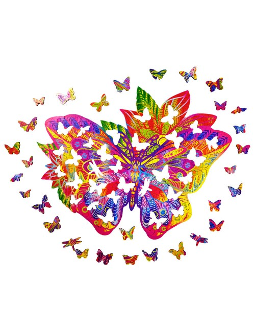 BUTTERFLY – Animal Wooden...