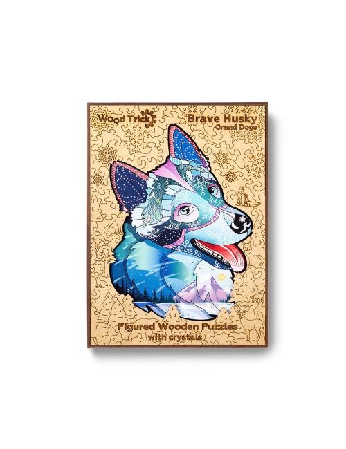 El perro Husky – puzzle de...