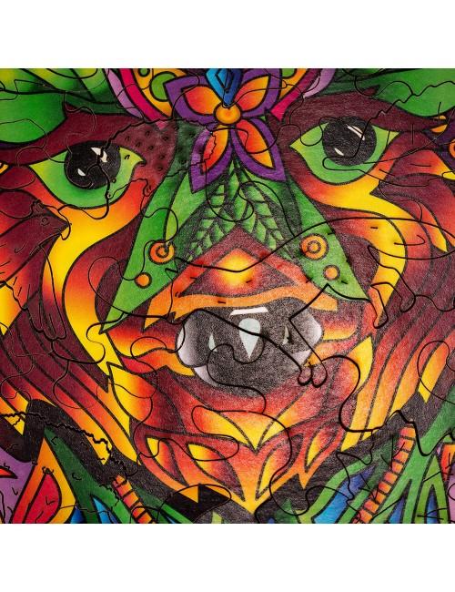 El oso – puzzle de animales...