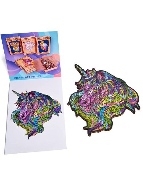 Unicornio púrpura – puzzle...