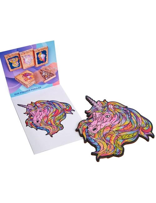 Unicornio rosa – puzzle de...