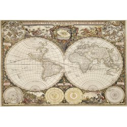 Mapa del mundo antiguo -...