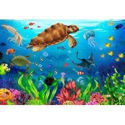 Paraíso acuatico - Puzzle...