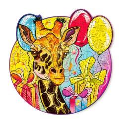 Jirafa – puzzle de animales...