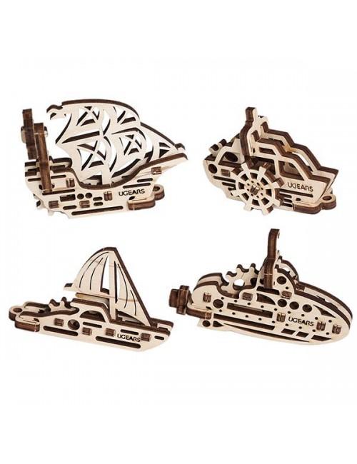 U-Fidget Barcos (U-Fidget Ships)