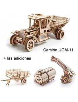 Сamión UGM-11 con las adiciones