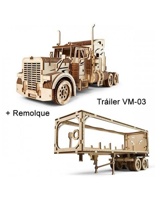 Tráiler VM-03 con Remolque