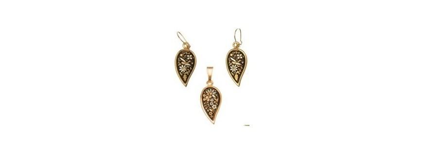 Damascene jewelry