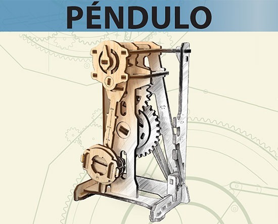 UGEARS Pendulum – Handbook of A Young Engineer